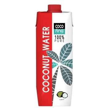 Apa de Nuca de Cocos 100% Pura, 1 L