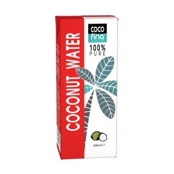 APA DE NUCĂ DE COCOS 100% PURĂ 200 ml