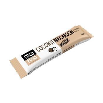 Baton Cocofina cu Macaroon, 100 % Organic, 35 gr