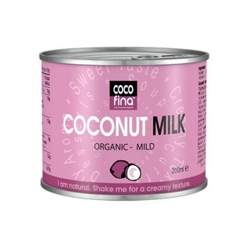 Lapte de Nuca de Cocos Organic, 200 ml