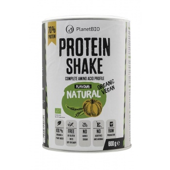 SHAKE PROTEIC ECOLOGIC VEGAN 67% Conținut De Proteine Și Gust Natural Neutru