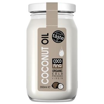 ULEI DE COCOS ORGANIC PRESAT LA RECE 350 ml