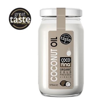 Ulei de Nuca de Cocos Organic Presat la Rece, 975 ml